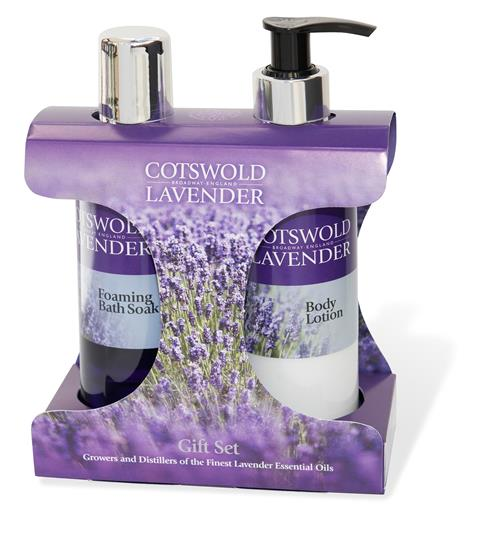 Lavender Foam Bath & Body Lotion Gift Set, 200ml - Adapt Avenue