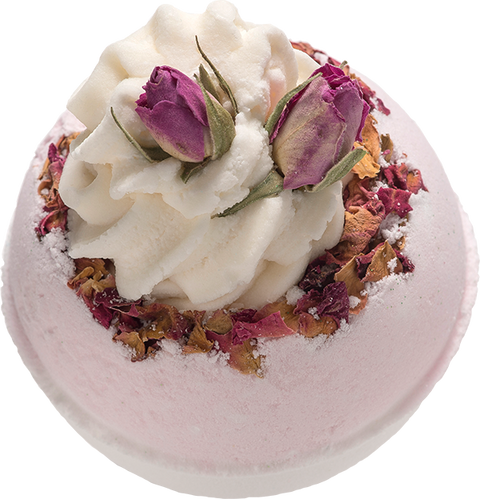 Bomb Cosmetics Wild Rose Bath Blaster | Adapt Avenue