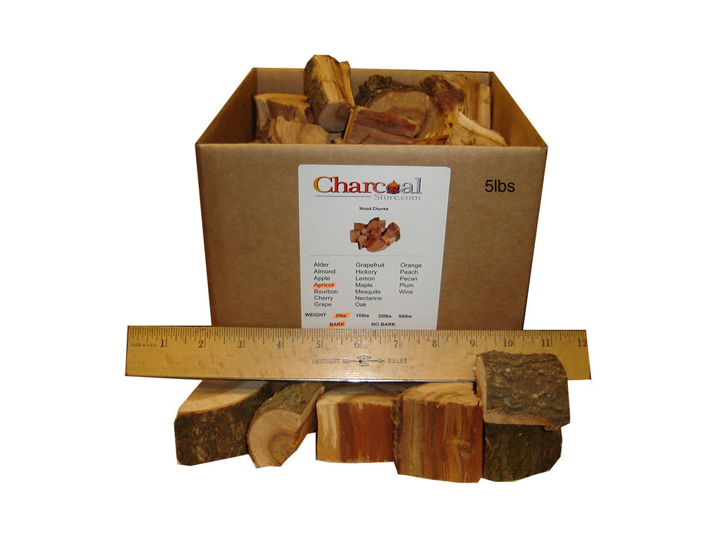 Apricot Chunks - Bark (10 lb) - 9604