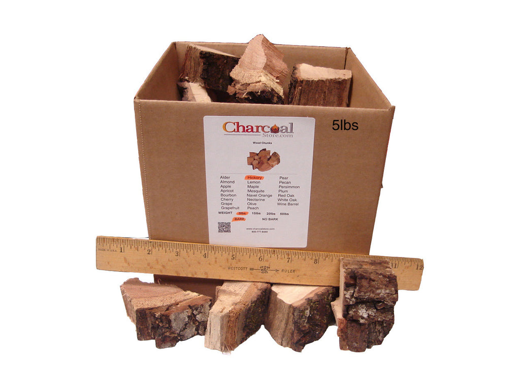Hickory Chunks - Bark (10 lb) - 9550