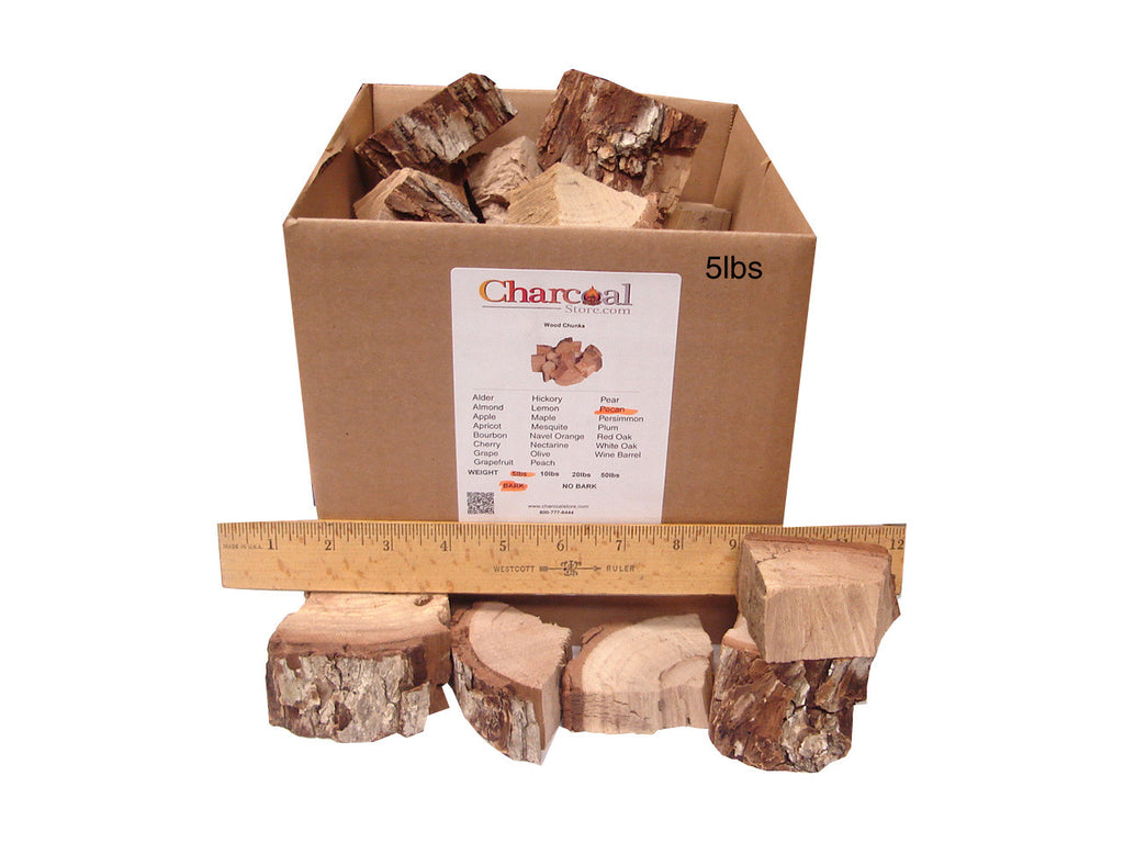 Pecan Chunks - Bark (20 lb) - 9544