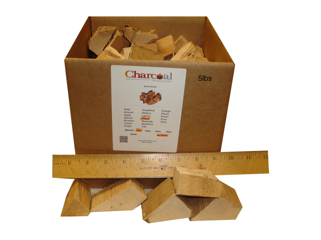 Maple Chunks - No Bark (10 lb) - 9560