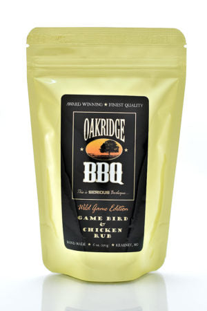 Oakridge BBQ Wild Game Edition Game Bird and Chicken Rub - 6 oz