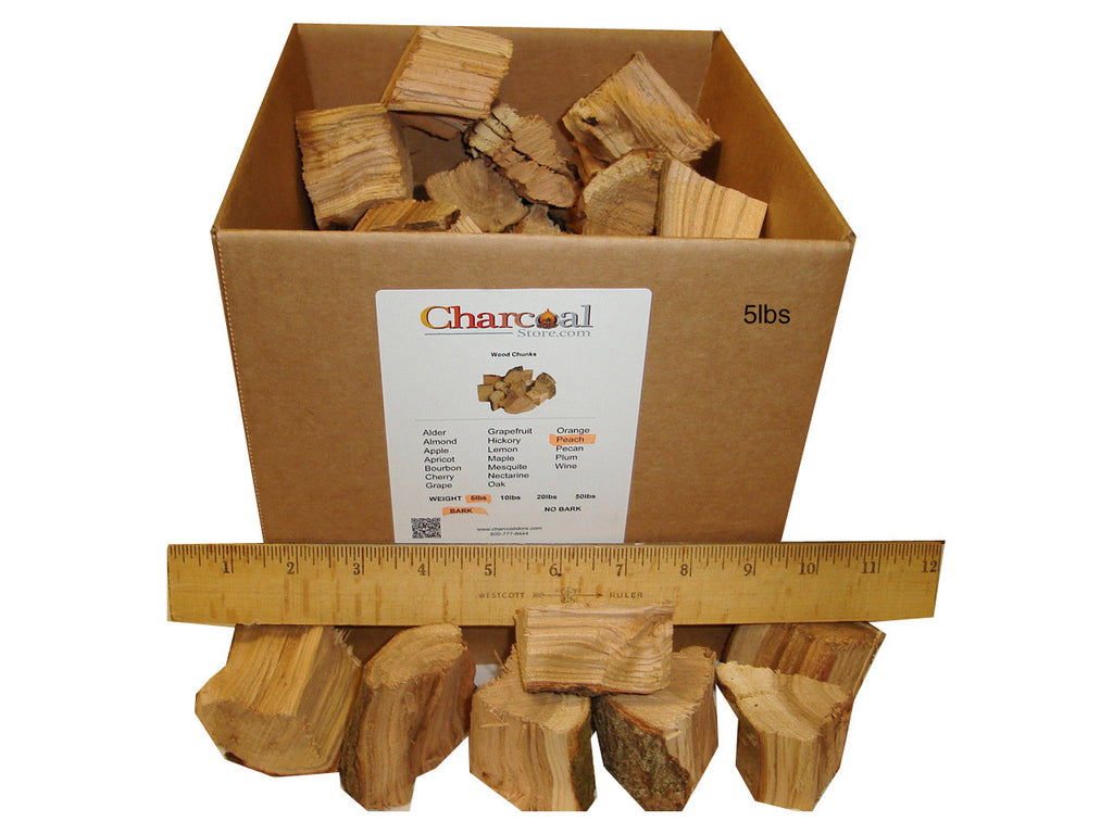 Peach Chunks - Bark (20 lb) - 9598