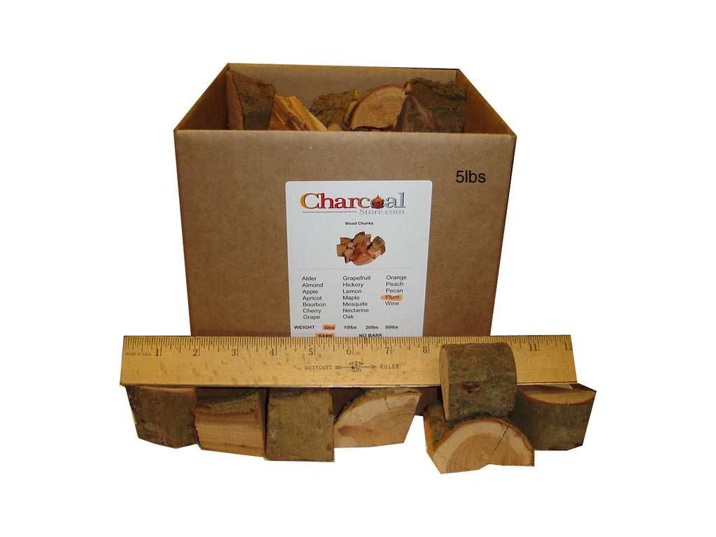 Plum Chunks - Bark (20 lb) - 9624