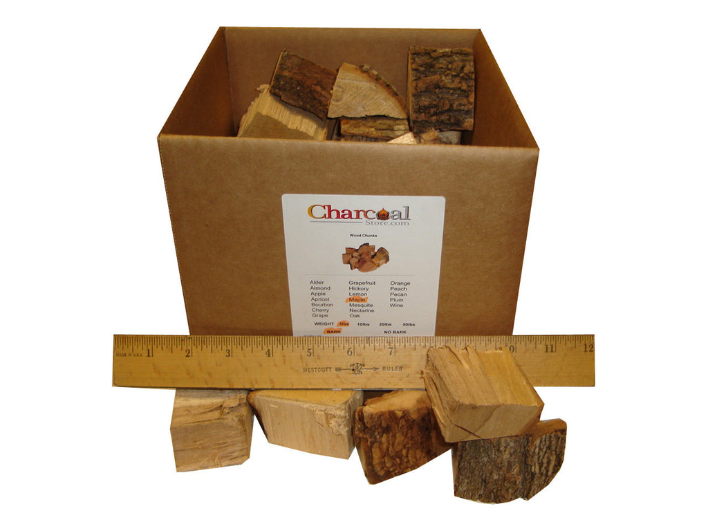 Maple Chunks - Bark (5 lb) - 9508
