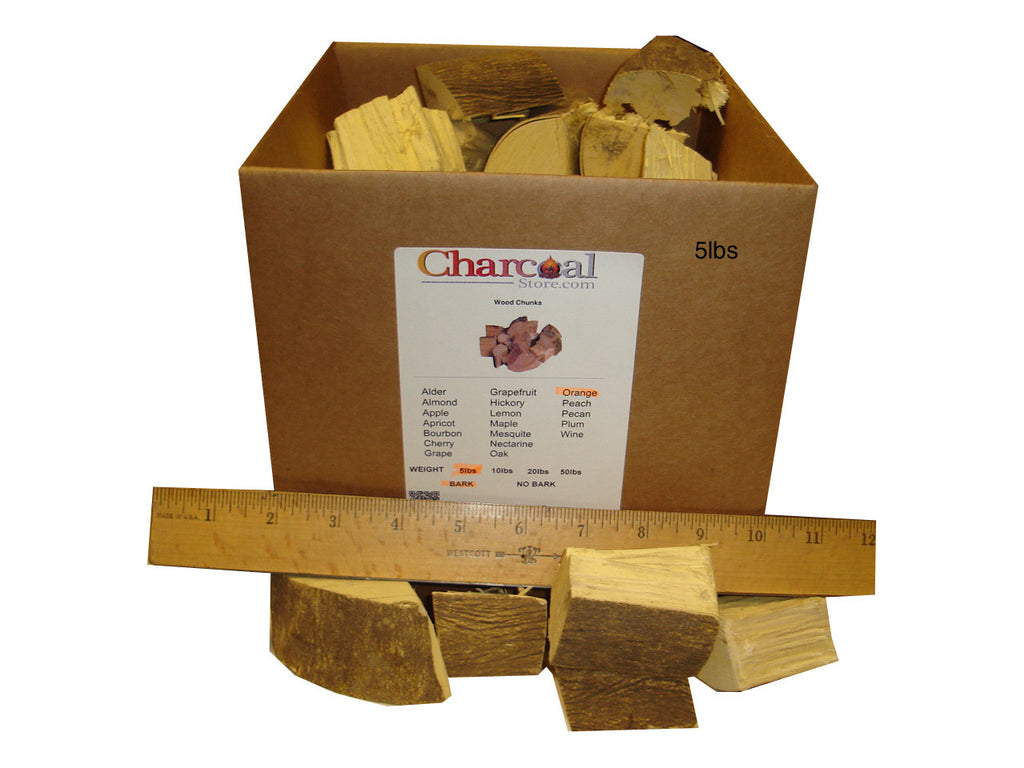 Navel Orange Chunks - Bark (50 lb)