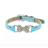 Candy Color Collar with  Bone Charm size s and m only