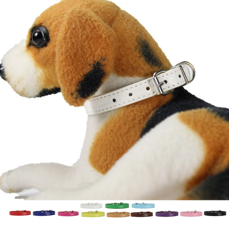 "Small Dog Collar size s only 8.5"" to 10.5"" 15 colors"