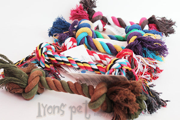 Cotton Chew Knot Toy Durable Braided Rope