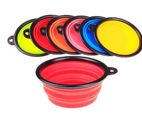 Collapsible foldable Bowl  silicone