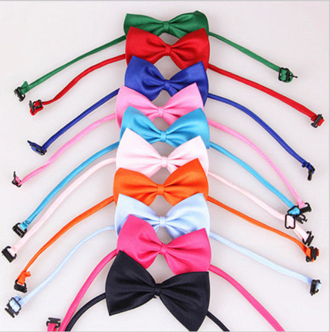Adjustable Bow tie 10 colors