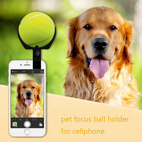 selfie helper (focus ball holder clip for your cellphone)