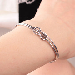 Infinite Simple Bracelet Bangle