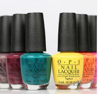 15 ml OPI Shellaced colorful nail Polish Nail top and base coat Long-lasting nail art