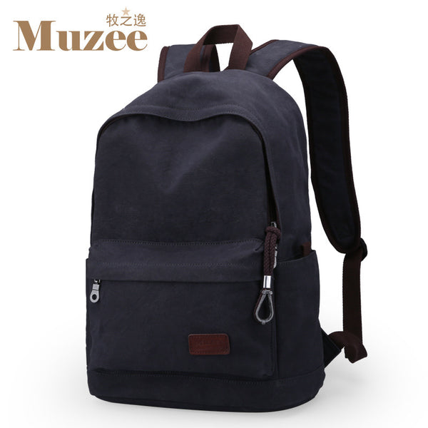 Men Male Canvas Backpack