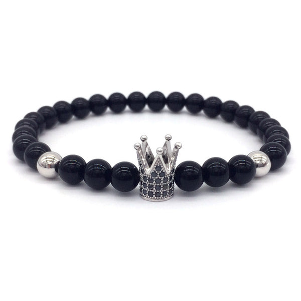 Imperial Crown Charm Bracelets Men
