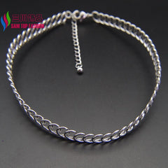 Steam Punk Hollow Gold/Silver/Black Metal Collar Chokers Necklaces