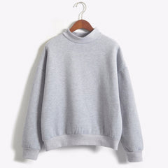 Round Neck Cotton Hoodies