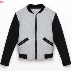 Bomber Jacket Coat Hoodies
