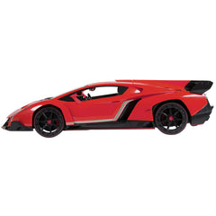 Best Choice Products 1/14 Scale RC Lamborghini Veneno Gravity Sensor Radio Remote Control Car Red