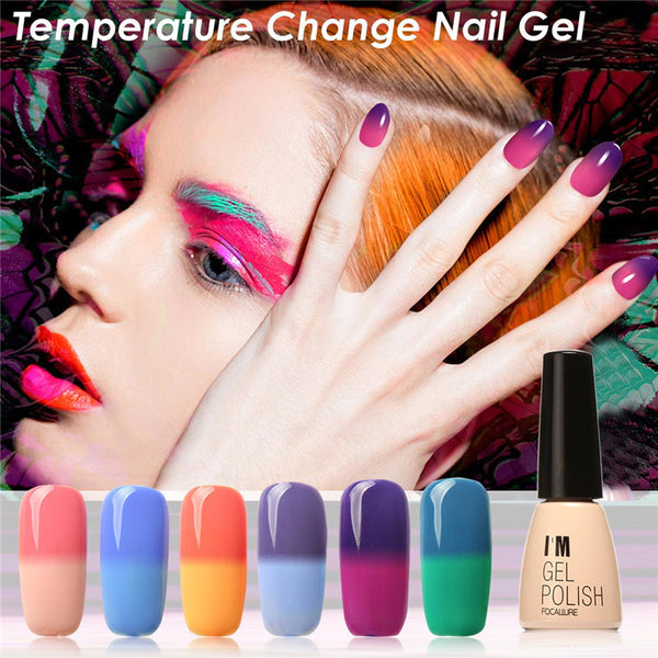 30 Colors Gel Nail Polish Set Color Changing