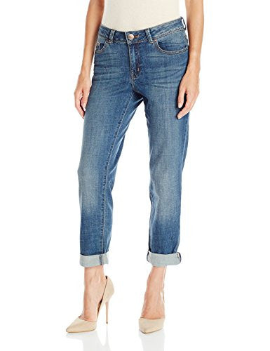 Lee Women's Modern Series Curvy-Fit Ruby Boyfriend Jean