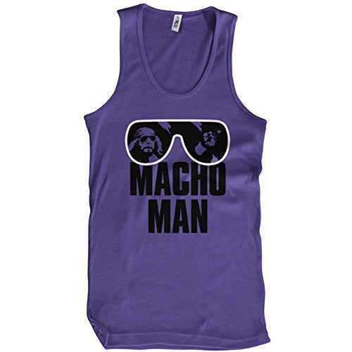 MACHO MAN RIP TANK TOP Retro SAVAGE RANDY Tee