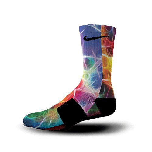 HoopSwagg Neuron Magic Custom Elite Socks