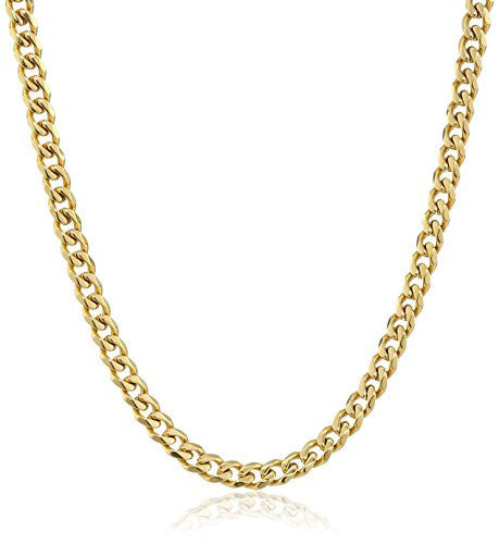Classic Cuban Link Necklace, 24""