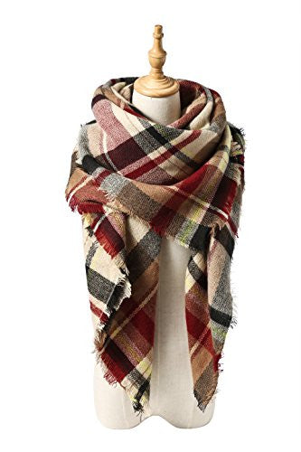 Spring Fever Stylish Warm Blanket Scarf Gorgeous Wrap Shawl