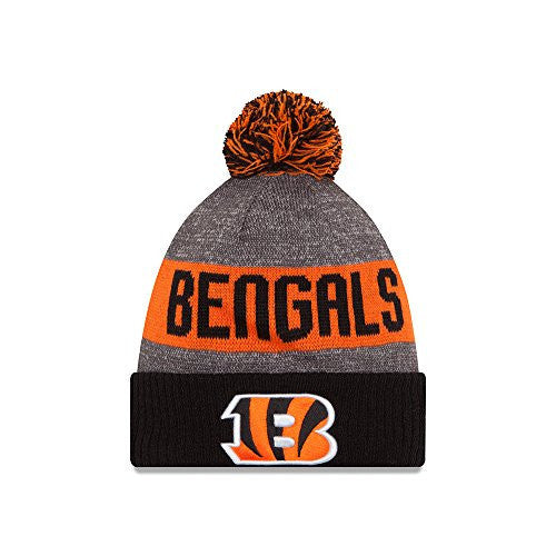 Cincinnati Bengals New Era Sideline Sport Knit Hat