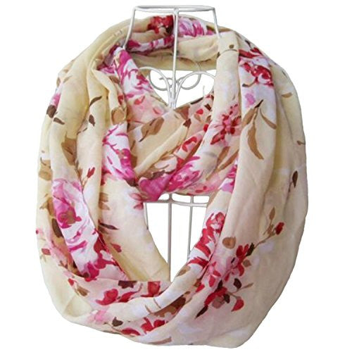 Tapp Collections™ Premium Soft Multicolor Sheer Infinity Scarf