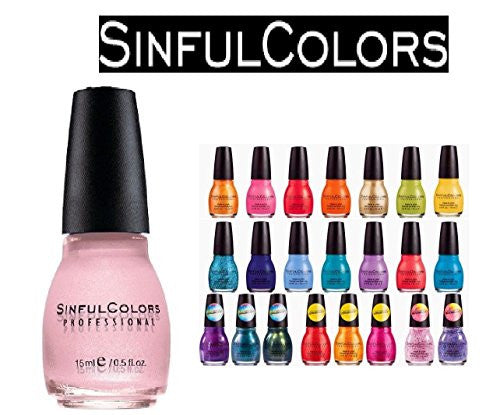 10 Sinful Colors Finger Nail Polish Color Lacquer All Different Colors No Repeats