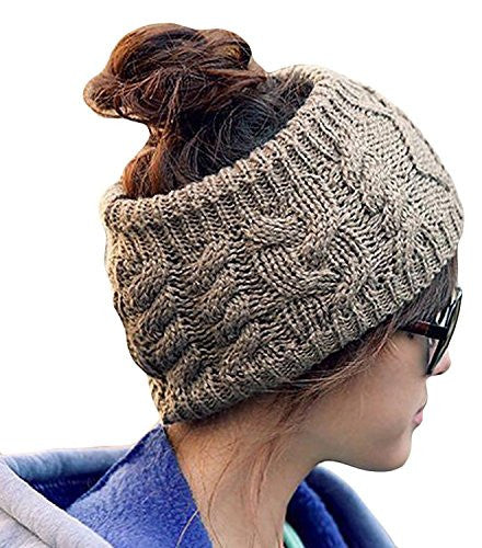 Women Girl Knit Cable Headband Hairband Head Wrap