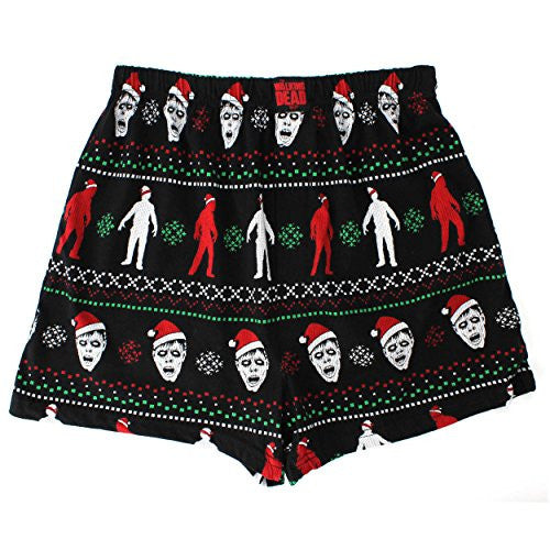 The Walking Dead Mens Cotton Boxer Shorts