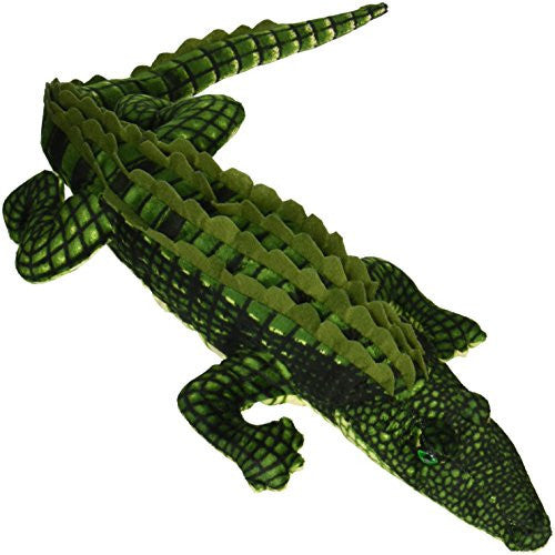 "Fiesta Toys Alligator Gator Plush Stuffed Animal Toy, 27""/Large, Green"