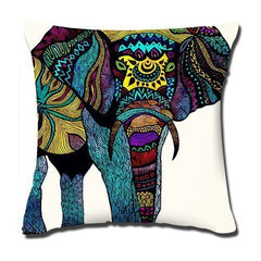 Amxstore Cotton Polyester Decorative Throw Pillow Cover