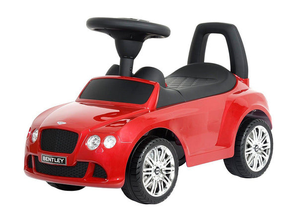 Bentley Ride-On Red with Sound - Ride-Ons & Wagons by Kids Preferred (96849)