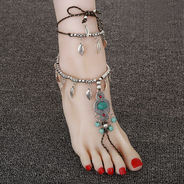 Bohemian Barefoot Sandle Anklet