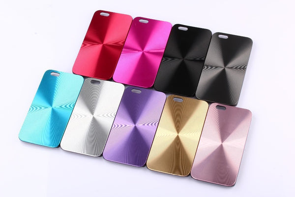 Alumium Metal Phone Case for Iphone 4 4s 5 5s SE 6 6s 6plus