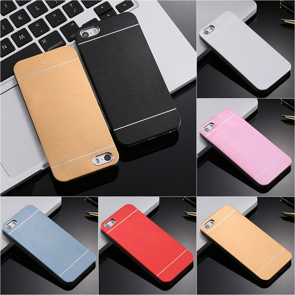 Aluminum Plastic Hard Back Phone Case Accessories