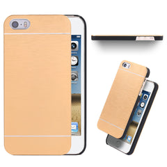Cool Metal Gold Case For Apple iphone5 5S SE