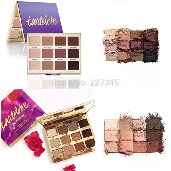 Eyeshadow Tartelette In Bloom Clay Palette Matte Eye Shadow