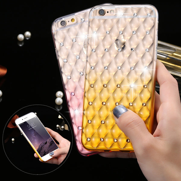 FLOVEME Glitter Rhinestone Phone Case for iphone 6 6s 4.7