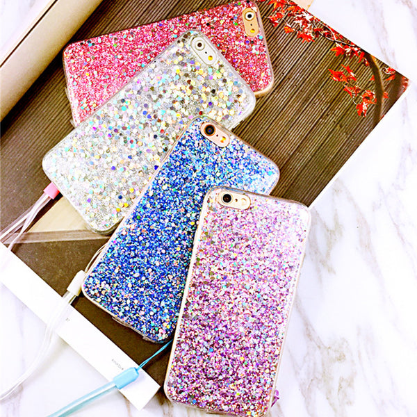 Glitter Bling Case For iphone 7 Case For iphone7 6 6S Plus Phone Cases