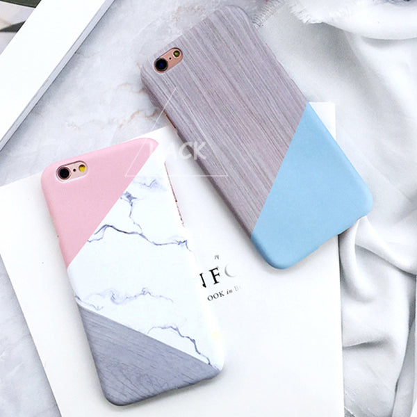 Geometric Marble Phone Cases For iphone 6 6S Plus 6Plus Case 4.7/5.5
