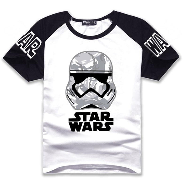 Darth Vader T-shirt O Neck Tops