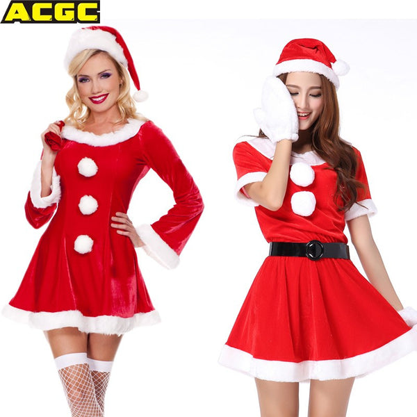 Halloween Costumes For Women Santa Claus Costume