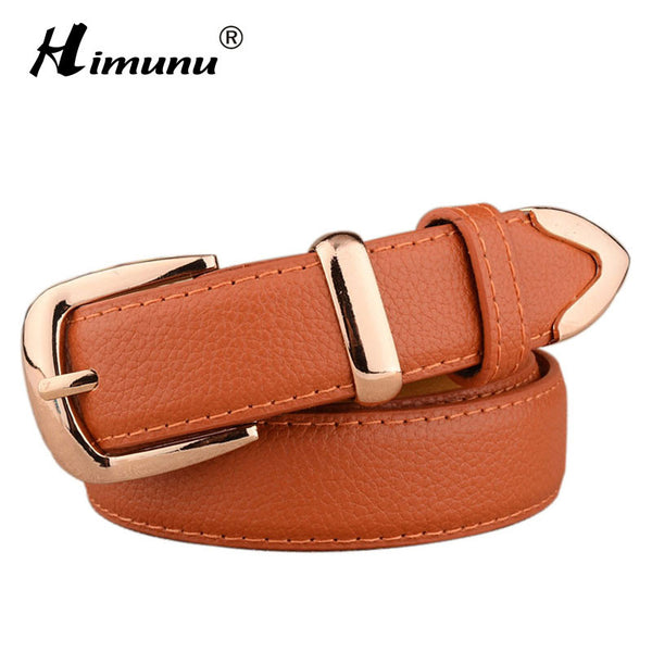 Himunu Brand Luxury Leather Female Belt